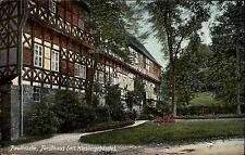 PAULINZELE Forsthaus AK um 1900/10 Absendereindruck Gasthaus Menger