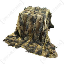 Digital Russian Woodland Camo Ghillie Cover - 3m x 2m - Camouflage Durable Sack