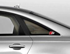 3 x Audi S-line Aufkleber für Heckscheibe A3 A4 A5 A6 A8 RS TT Q7 Emblem Logo A
