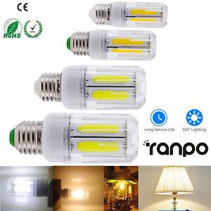 COB LED Corn Light Bulb E27 E26 12W 16W 220V 110V Energy Saving Home Lighting RC