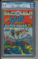 All Star Comics #58 - CGC 9.4 - 1st Appearance of Power Girl