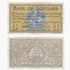 Bank of Scotland £1 (Craig & Watson) BYB ref: SC106b - VF.