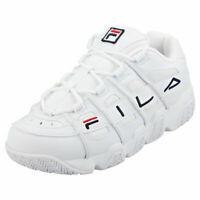Fila Uproot Mens White Synthetic & Textile Fashion Trainers