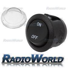 On/Off SPST 10A 12V Hillclimb Rally / Track Car Rocker Horn Light Switch Button