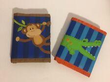 Stephen Joseph Wallet Kids Monkey And Alligator Euc Lot