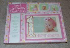 ~NEW Girls FIRST BIRTHDAY Photo Kit & Props! Super Cute FS:)~