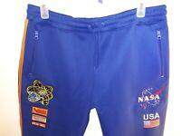 Hudson Outerwear Track Suit Pants Nasa 3XL Mens Blue NEW