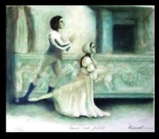 D L SCAMEK Romeo + Juliet Ballet LITHOGRAPH Ltd Ed SIGNED Dancers manner Chagall