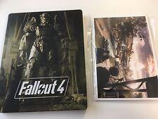 * Fallout 4 * STEELBOOK Estuche + Postales * no * Juego Para PC PS4 Xbox One ETC.