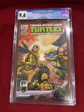 CGC 9.6 TMNT Ninja Turtles New Animated Adventures #3 (IDW)-Montreal Comiccon