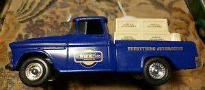 Die Cast Jc Whitney Pickup Truck Bank 1955 Model Blue Toy Ertl
