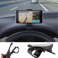 Universal 360° Coche Dashboard Soporte de Montaje Clip para Teléfono Movil GPS