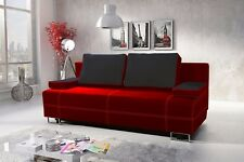 Brand New Modern Fabric Sofa Bed / Couch - CHICAGO