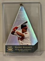 RARE 1996 PACIFIC CROWN COLLECTION MANNY RAMIREZ CRAMERS CHOICE DIE-CUT  MINT