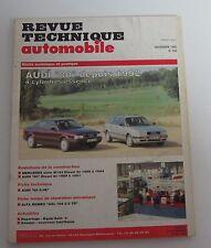 Revue technique automobile  RTA 556 Audi 80 1992 -> 4 cylindres essence