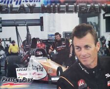 """2011 Clay Millican Parts Plus """"3rd issued"""" Top Fuel NHRA postcard"""