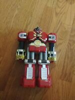 Vintage Deluxe Red Battlezord Battle Zord Power Rangers Zeo Megazord Punching