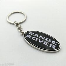 High quality metal car logo Single Side key chain FOR RANGE ROVER Free Shipping