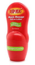 Deep Heat Dual Action Muscle Massage Plus Heat Roll on Lotion 50ml