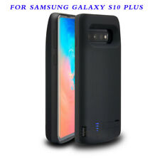 6000mAh Battery Charger Case fit Samsung Galaxy S10 Plus Backup Power Bank Case
