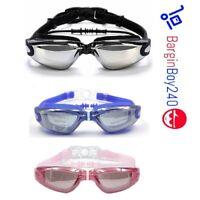 BB240 Anti Fog Swimming Goggles for Men Women Boys Girls Adult Junior Kids