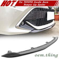 Carbon For TOYOTA Corolla AURIS E210 Hatchback Front Bumper Lip Spoiler 2019