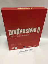 WOLFENSTEIN 2 II THE NEW COLOSSUS COLLECTOR'S EDITION - PC - NUOVO NEW GAME
