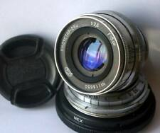 Contax RF Mount to Sony NEX, A7 E-Mount Adapter (with stopper!) + Fast Lens
