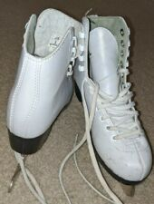 White Size 3 Big Kids Ice Skates