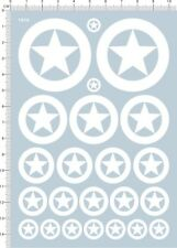 decals USA tank marks(white) for 1/35 1/48 or other scales (1910)