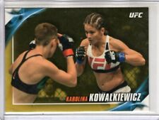 2019 Topps UFC Knockout KAROLINA KOWALKIEWICZ #51 Gold Parallel 1/1 Rare SSP
