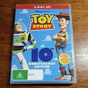 Toy Story Disney Pixar DVD R4 LIKE NEW FREE POST Tom Hanks Animation/Anime