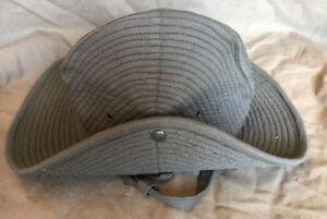 French Army Olive Green Chapeau de Brousse Bush Hat Size 7 5/8 (61)