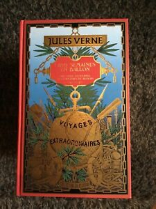 JULES VERNE - CINQ SEMAINES EN BALLON - EDITIONS ATLAS / COLLECTION HETZEL NEUF