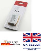 LP-E8 LP E8 LPE8 Camera Battery Batteries For Canon EOS 550D 600D 650D 700D UK