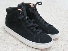 UGG Australia Mens Cali Fringe Fashion Hi-Top Sneakers Shoes Black 11