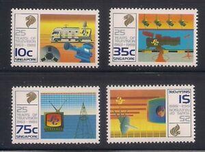 Singapore   1988   Sc # 525-28   MNH   (8142-4)