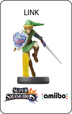 Carte Amiibo NFC LINK SSB  (Zelda, super smash bros)