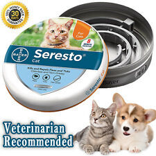 New ListingBayer Seresto Flea and Tick Collar for Cat 8 Months Protection w/ Reflectors