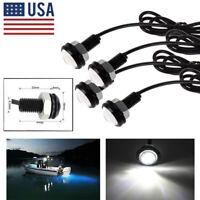4x White  Eagle Eye LED Daytime Running DRL Backup Light Car Rock Lamp DC 12V