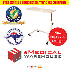 Days Overbed Table - Height adjustable with locking castors and new frame design