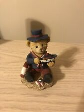 Teddy Bear Figurine With Boat