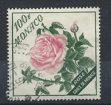 "Monaco N°522 Obl (FU) 1959 - Rose ""Grace de Monaco"""
