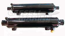 """Boat Marine Oil Transmission Cooler suit Ski Race Cruiser Velvet Drive 5"""" 1 1/4"""