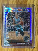 2019-20 NBA Hoops Premium Stock DUNCAN ROBINSON Prizm Pulsar Rookie RC HEAT 🔥#2