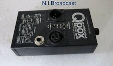 Qbox mic line tester
