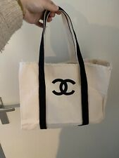 Cotton Chanel Shopper