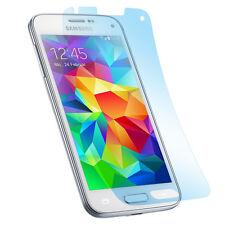 3x Matt Schutz Folie Samsung S5 mini Anti Reflex Entspiegelt Display Protector
