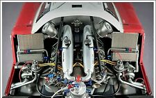 Coche De Carreras inspiredby Ferrari 24 LEMAN Exótico deporte Concepto 1 18
