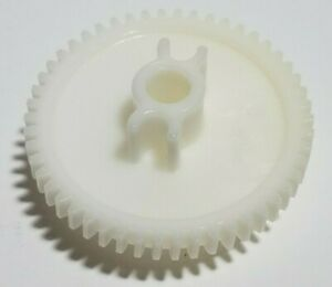 KNEX White Worm Gear for DC Electric Motor Pack Set Replacement Part Piece K'NEX
